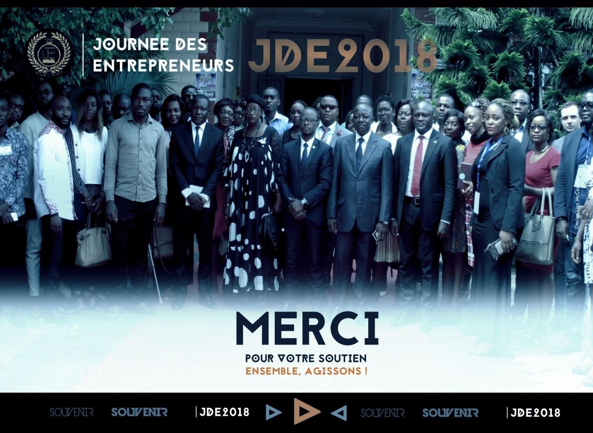 A l'attention des Partenaires, Entrepreneurs et Participants à la JOURNEE DES ENTREPRENEURS |JDE2018